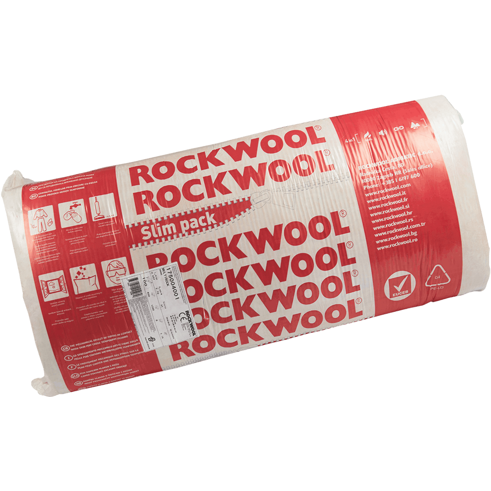 Vata bazaltica usoara Rockwool Multirock-C Slimpack 5.76 MP - 10CM