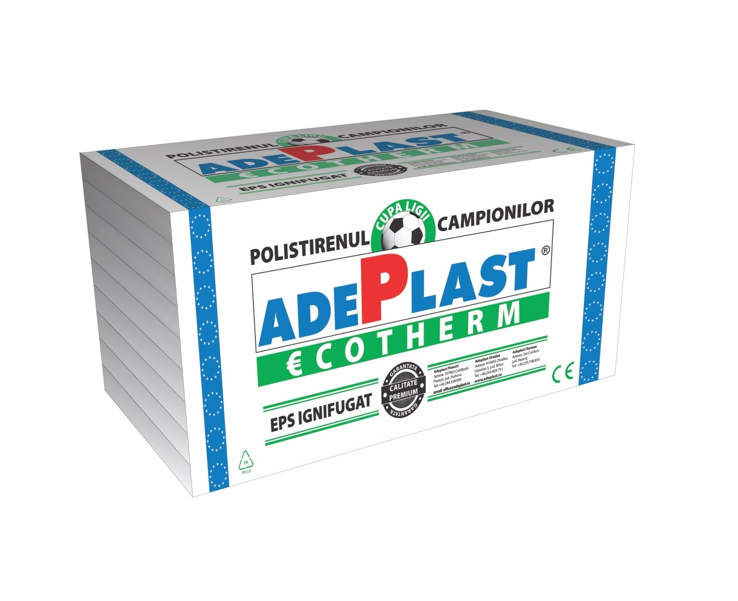 Polistiren expandat Adeplast EPS70 8cm