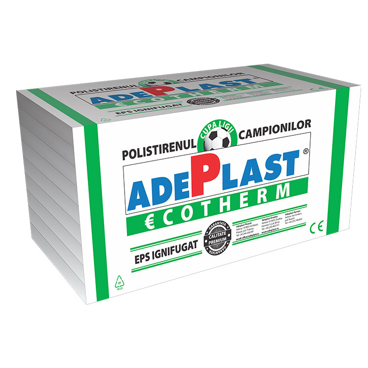 Polistiren expandat Adeplast EPS50 8cm