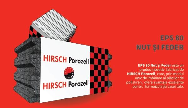 Polistiren expandat Nut& Feder Hirsch eps80 10 cm