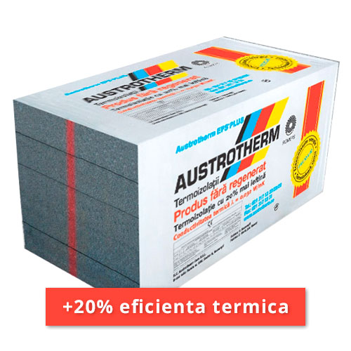 Polistiren grafitat Austrotherm AF PLUS 8 cm