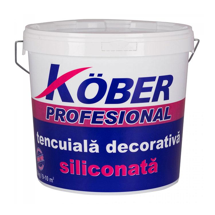 KOBER tencuiala decorativa siliconata bob de orez 25kg