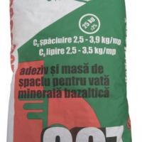 Adeziv si masa spaclu pentru vata Bazaltica Fatada Bega 307 25kg