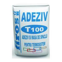 Adeziv si masa de spaclu Firos T100 25kg