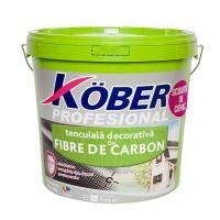 KOBER Tencuiala decorativa cu fibre de carbon 1mm