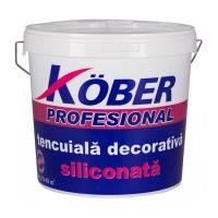 KOBER tencuiala decorativa siliconata scoarta de copac 25kg